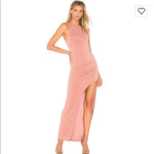 Lovers + Friends Obsessed Dress in Mauve